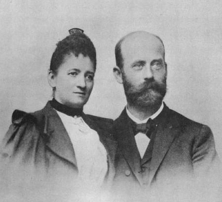 Angelina (Fanny) Eilshemius i Walther Hesse