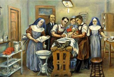 Clínica Mayo infermeres anestesistes Edith Graham