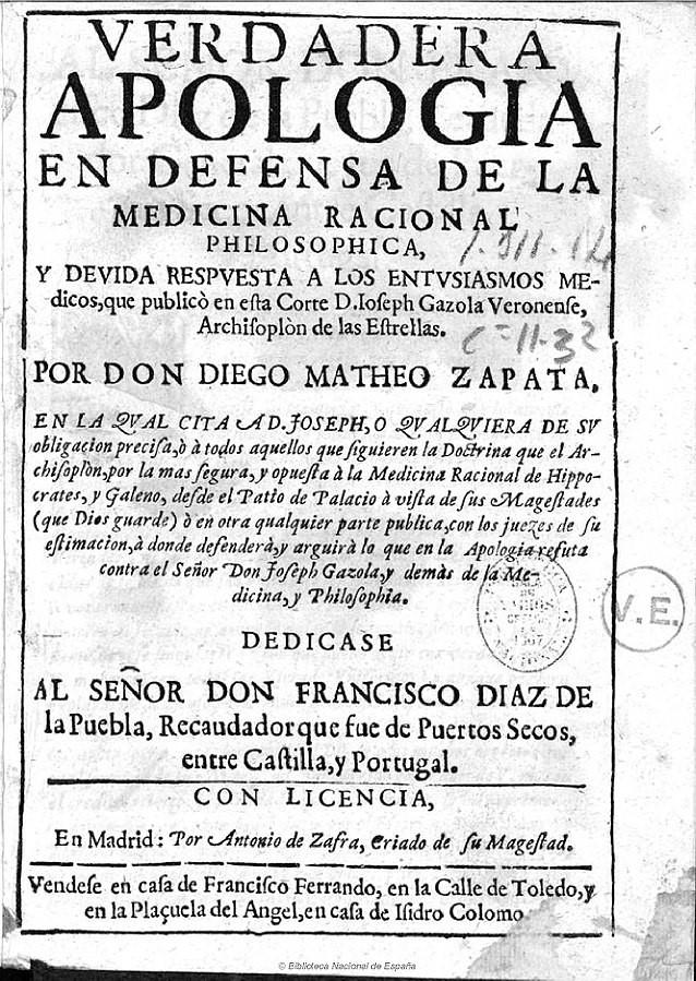apologia Diego Mateo Zapata