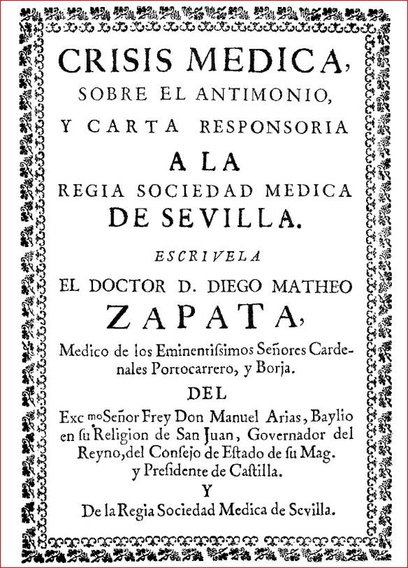Crisis médica sobre el antimonio (1701)