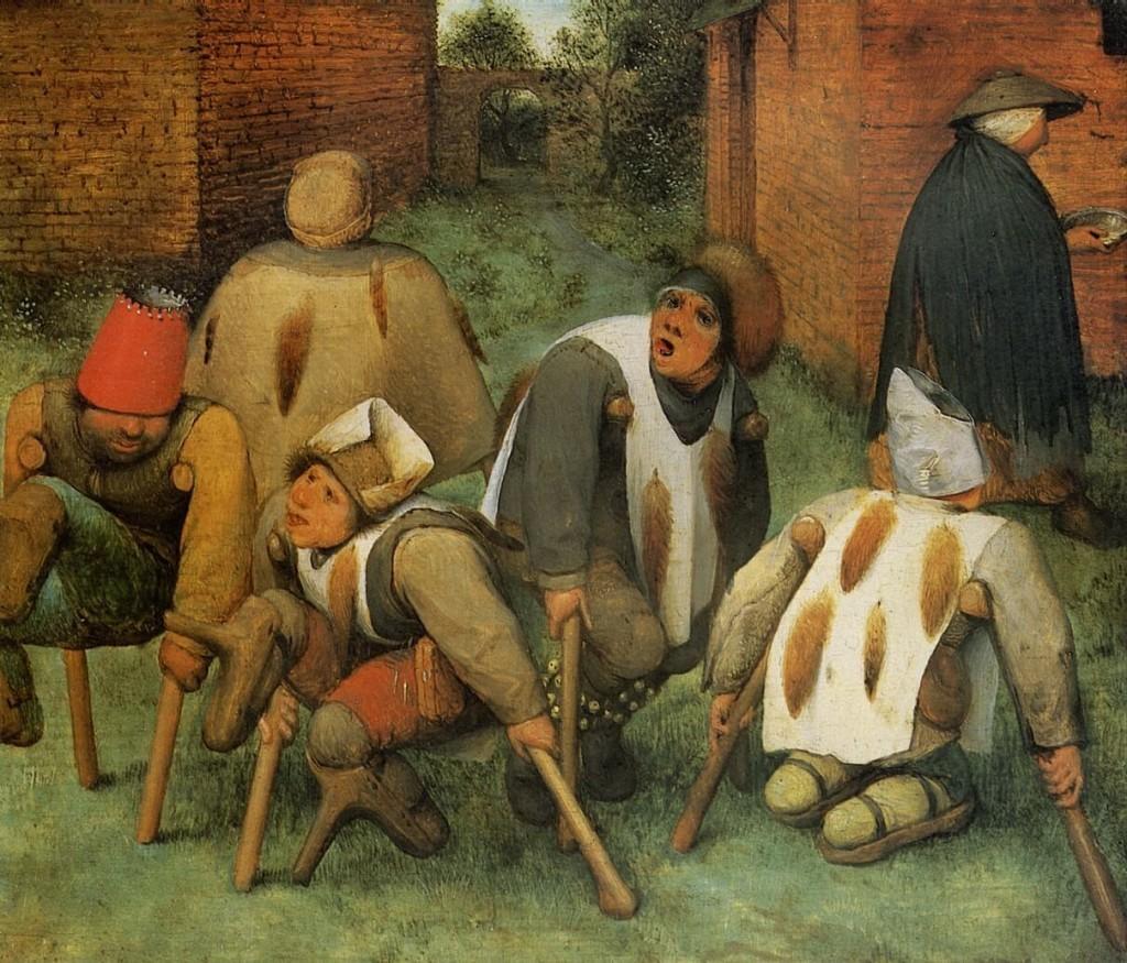 Els esguerrats de Pieter Brueghel el vell