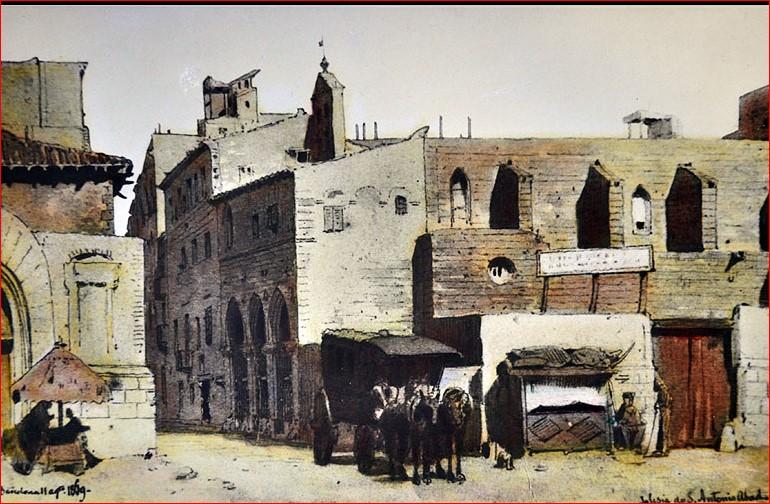 convent de Sant Antoni abat de Barcelona, 1869
