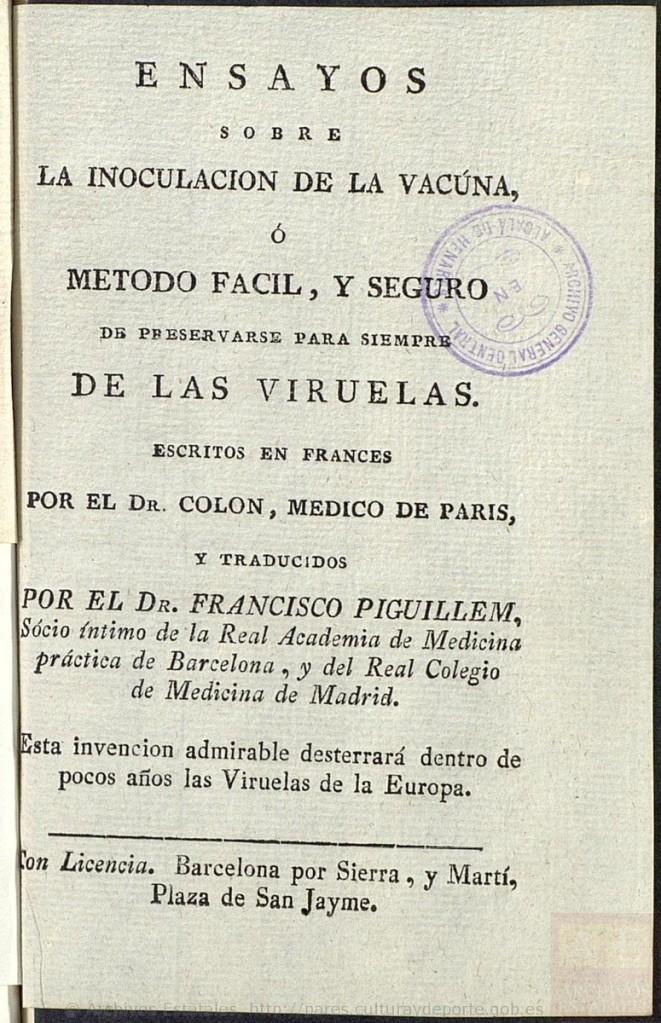Piguillem llibre François Colon