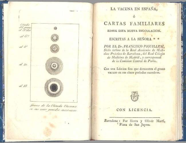 llibre de Francesc Piguillem: La vacuna en España