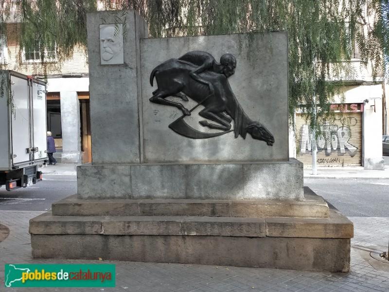 Monument dedicat a Jaume Ferran