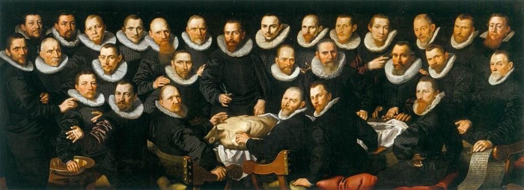Lliçó d'anatomia del Dr. Sebastian Egbertsz