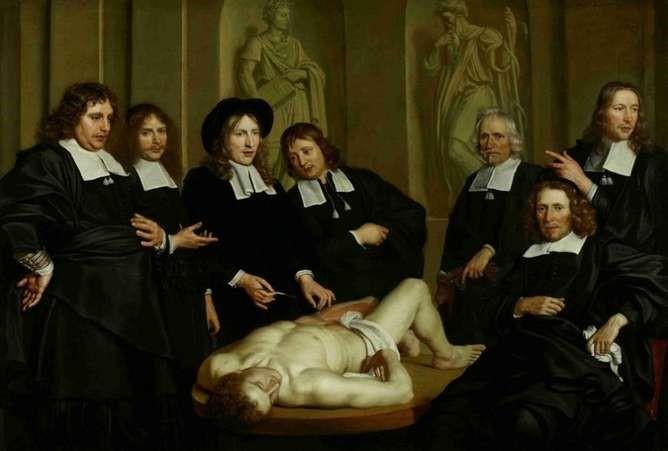 Lliçó d'anatomia del professor Ruysch