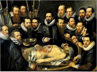 lliçó d'anatomia del Dr. Van del Meer