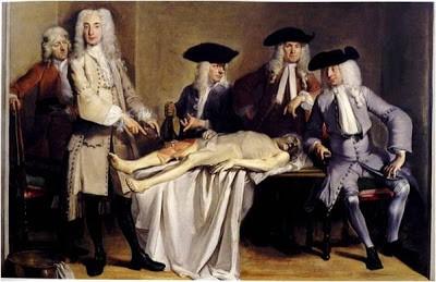 lliçó d'anatomia del professor Roell