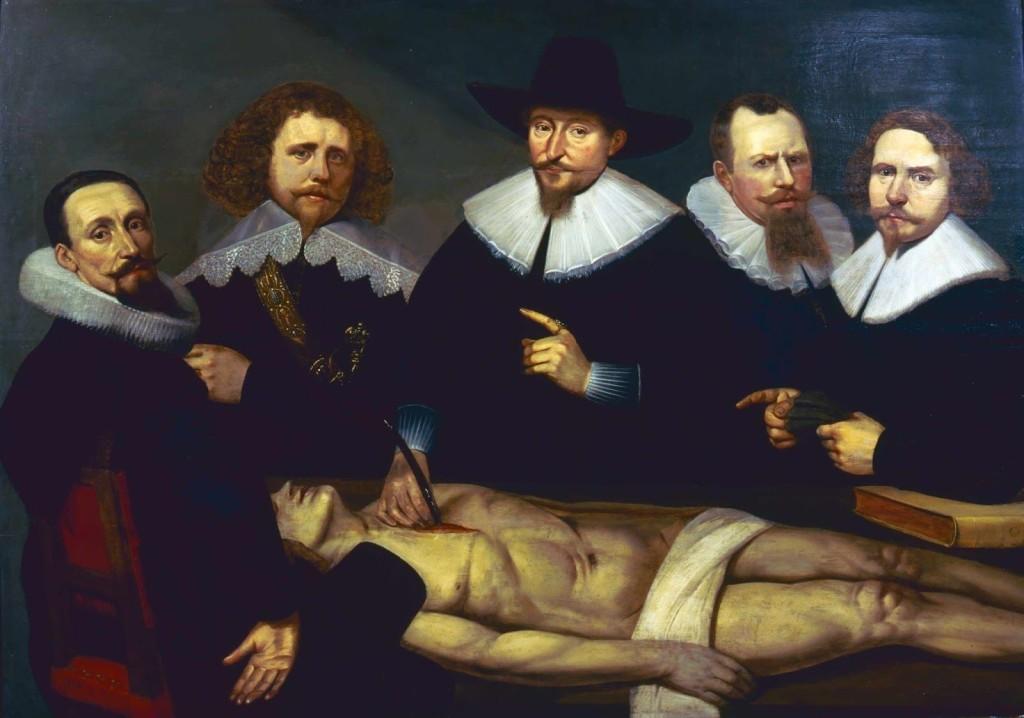 Lliçó d'Anatomia del doctor Zacheus de Jager