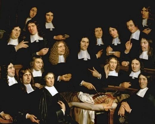 lliçó d'anatomia del Dr. Cornelis 's-Isaac Gravesande
