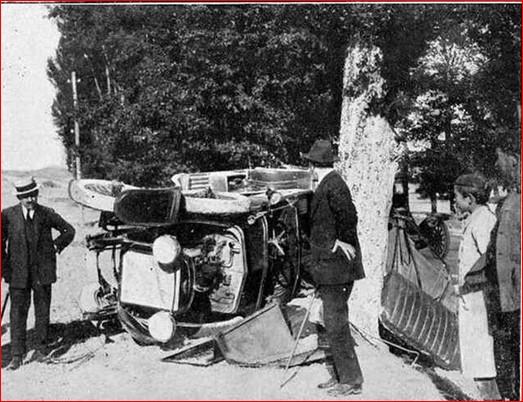 accident vehicle Fidel Pagés
