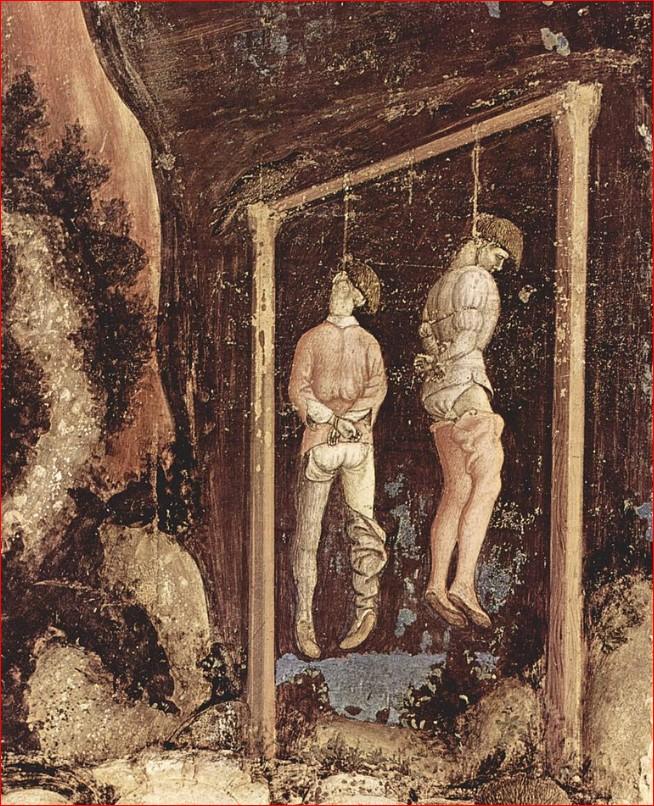 penjats forca Pisanello