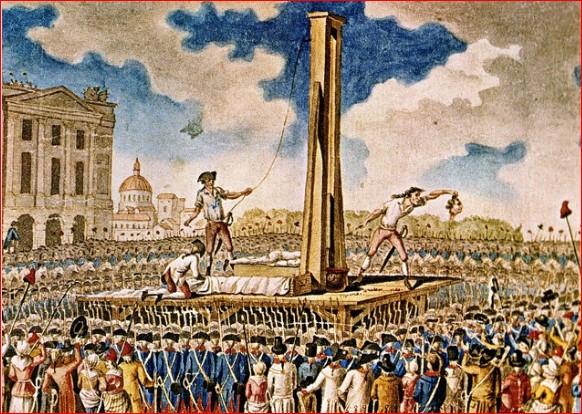 guillotina Lluís XVI