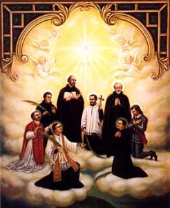 8 jesuïtes màrtirs canadencs. René Goupil.